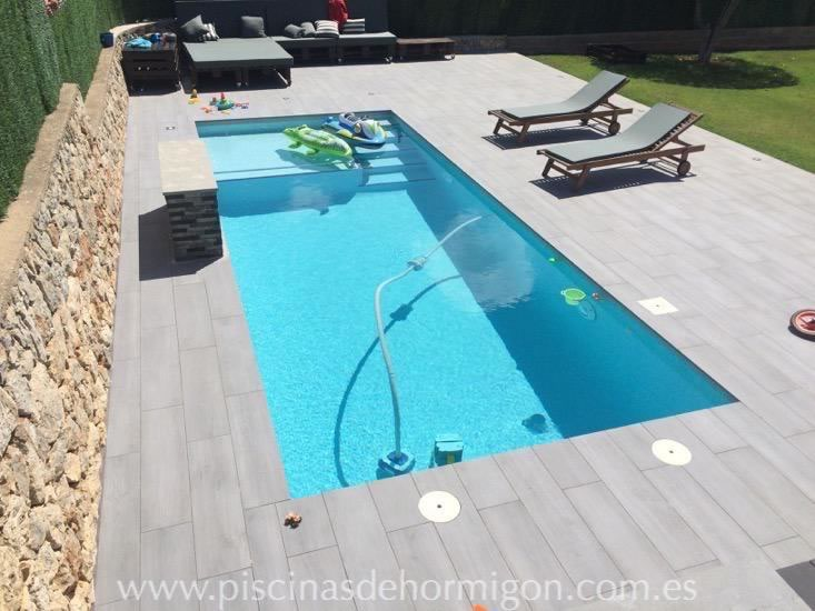 Piscinas de hormigon poolhmon piscinas por s lo for Precio construir piscina obra