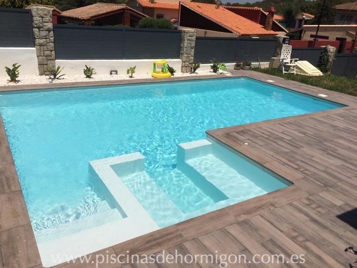 Piscinas de hormigon poolhmon piscinas por s lo for Piscina hormigon armado